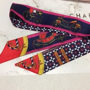 Accessories - Brand new coach printed twilly scarf